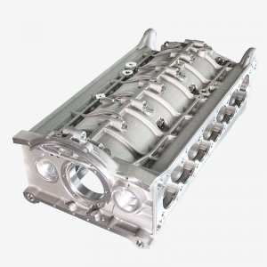 Crankcase for a 12 cylinder engine