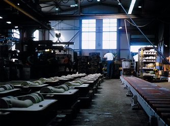 Foundry from the inside