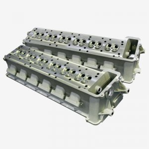 Reproduction of cylinder heads for a racing car engine